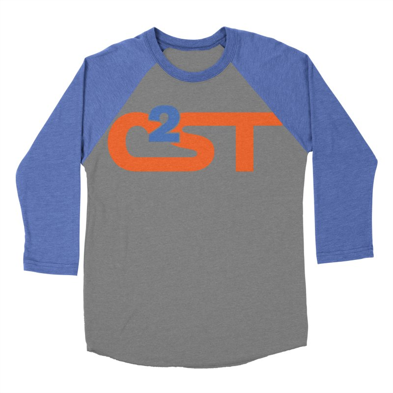 C2ST Classic Women's Baseball Triblend Longsleeve T-Shirt by C²ST