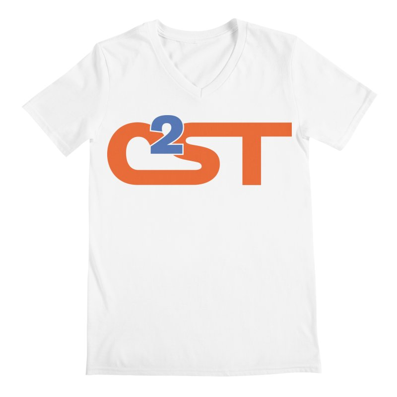 C2ST Classic Men's Regular V-Neck by C2ST's Artist Shop