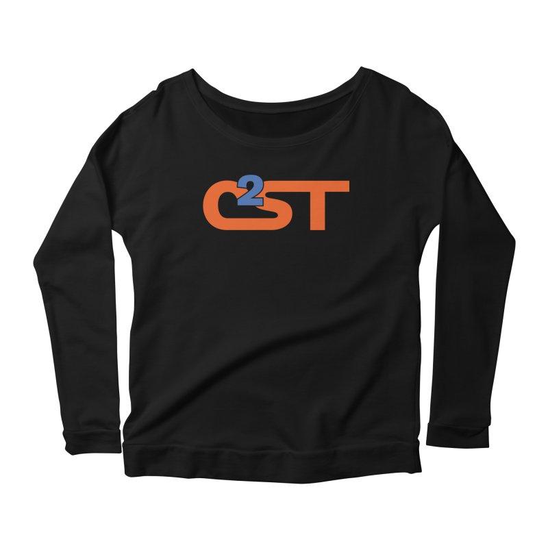 C2ST Classic Women's Scoop Neck Longsleeve T-Shirt by C²ST