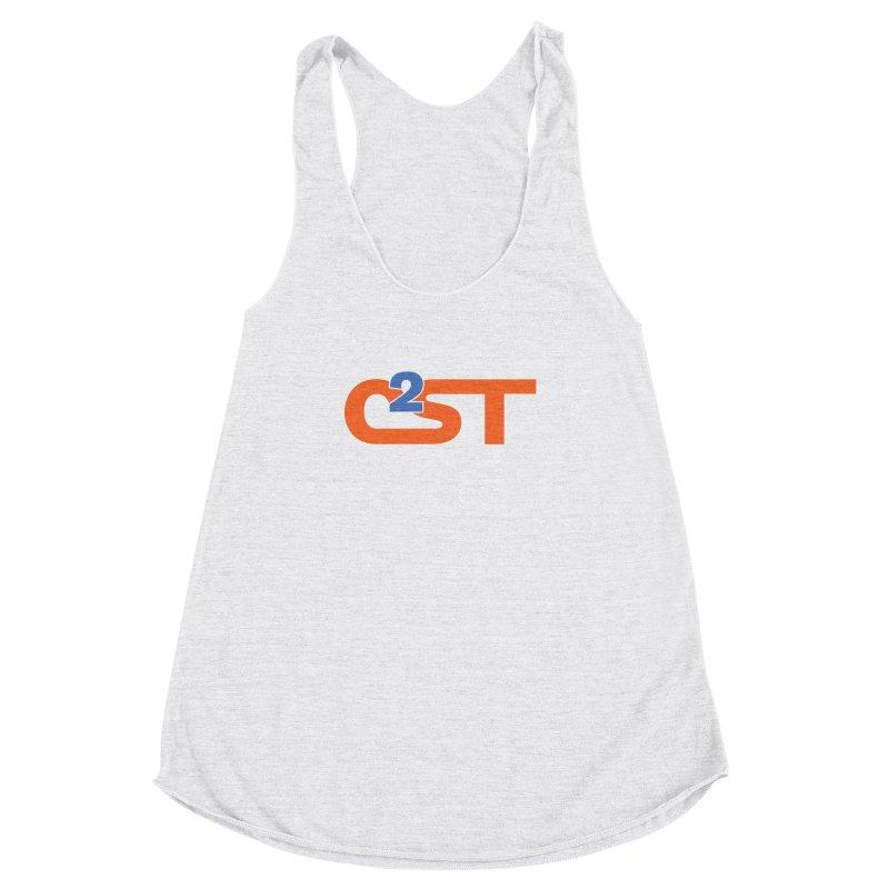 C2ST Classic Women's Racerback Triblend Tank by C²ST