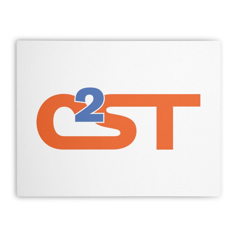 C2ST Classic Home Stretched Canvas by C2ST's Artist Shop