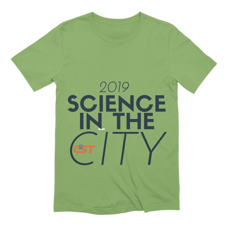 Science in the City Men's Extra Soft T-Shirt by C²ST