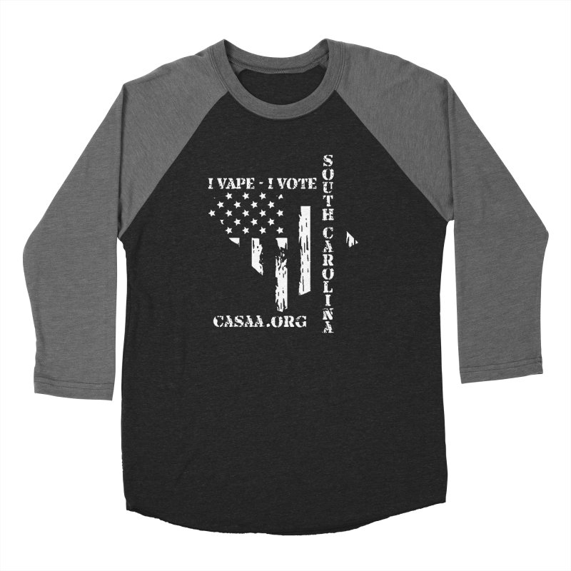 South Carolina Women's Baseball Triblend Longsleeve T-Shirt by CASAA Store