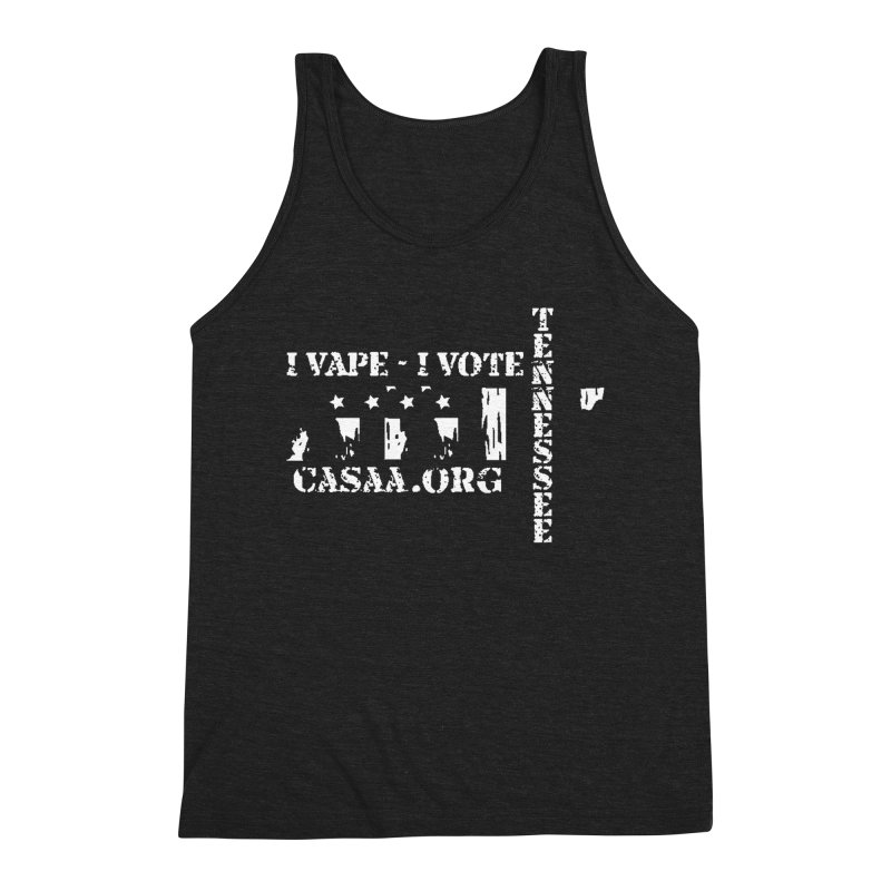 Tennessee Men's Triblend Tank by CASAA Store