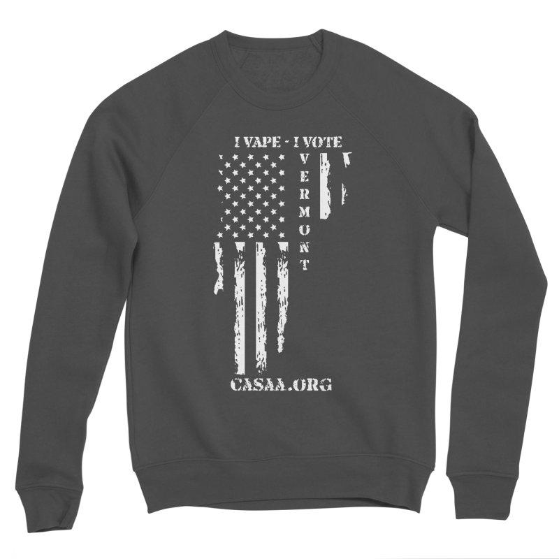Vermont Men's Sponge Fleece Sweatshirt by CASAA Store