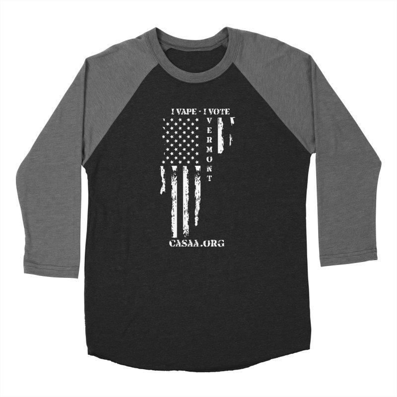 Vermont Women's Baseball Triblend Longsleeve T-Shirt by CASAA Store