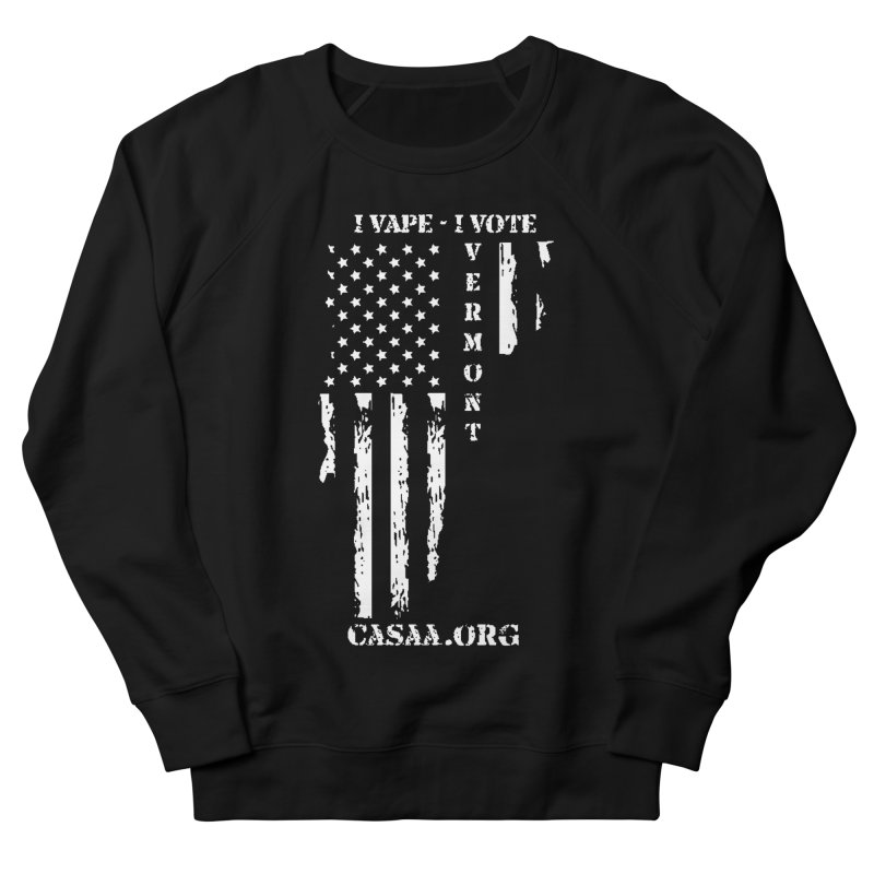 Vermont Men's Sweatshirt by CASAA Store