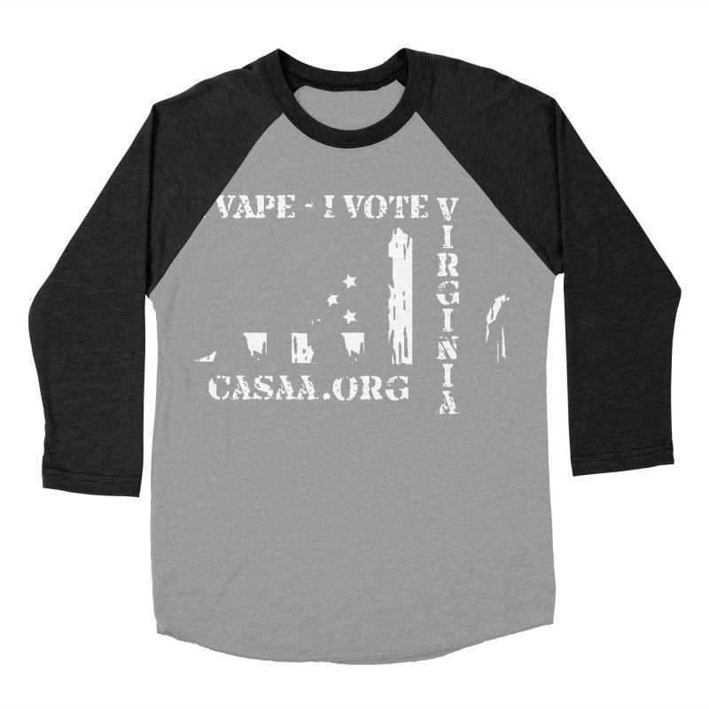 Virginia Men's Baseball Triblend Longsleeve T-Shirt by CASAA Store