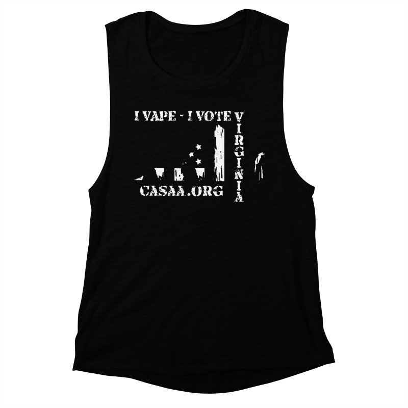 Virginia Women's Muscle Tank by CASAA Store