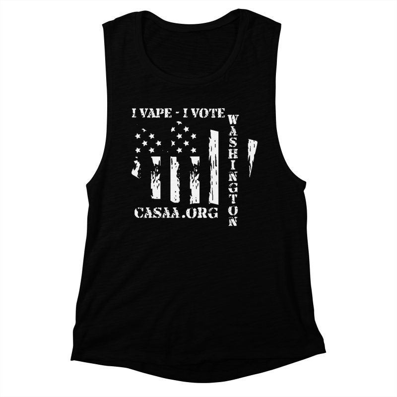 Washington Women's Muscle Tank by CASAA Store