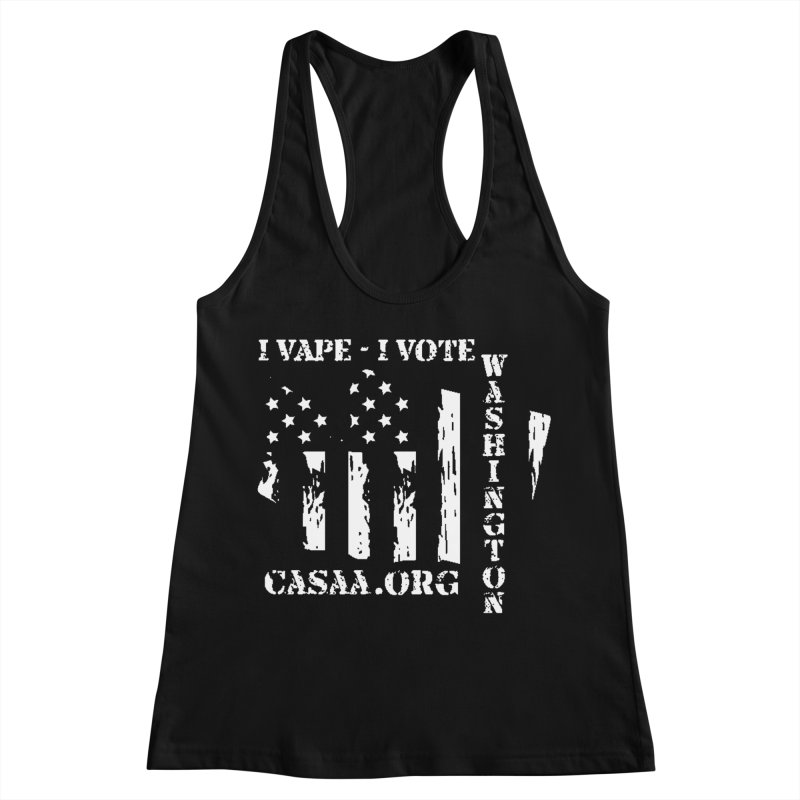 Washington Women's Racerback Tank by CASAA Store