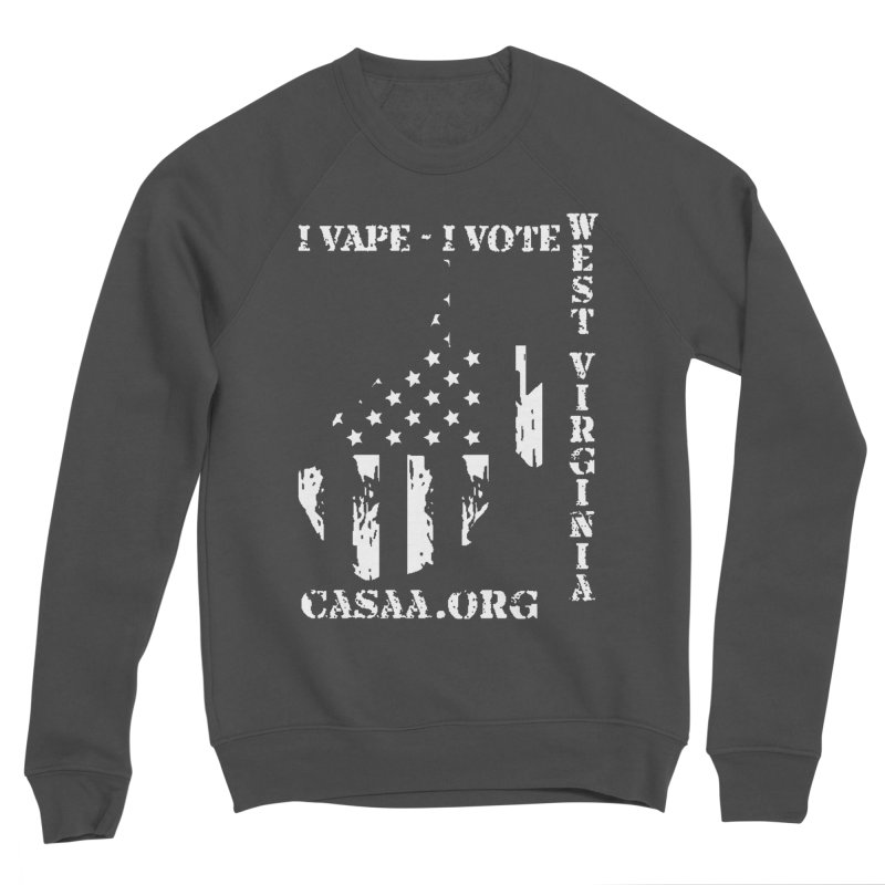 West Virginia Men's Sponge Fleece Sweatshirt by CASAA Store