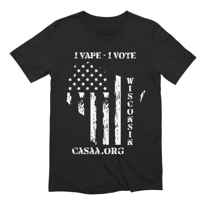 Wisconsin Men's T-Shirt by CASAA Store