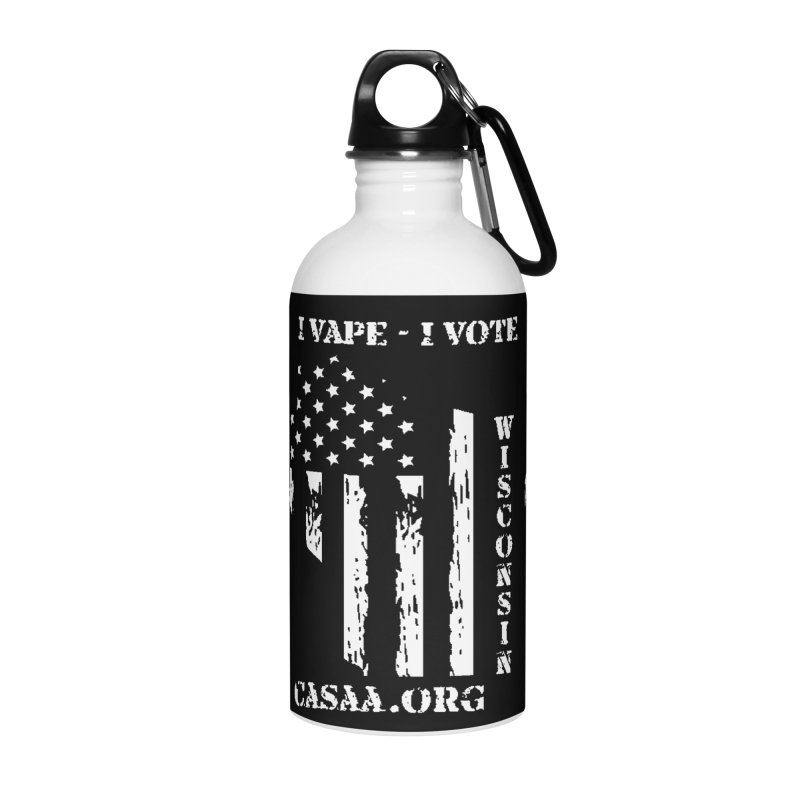 Wisconsin Accessories Water Bottle by CASAA Store
