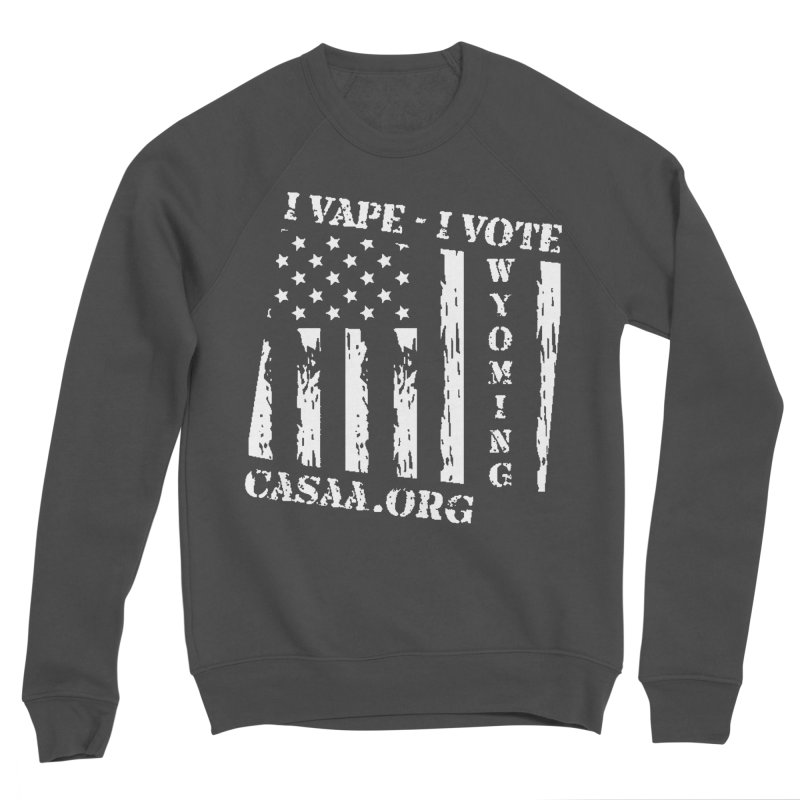 Wyoming Men's Sponge Fleece Sweatshirt by CASAA Store