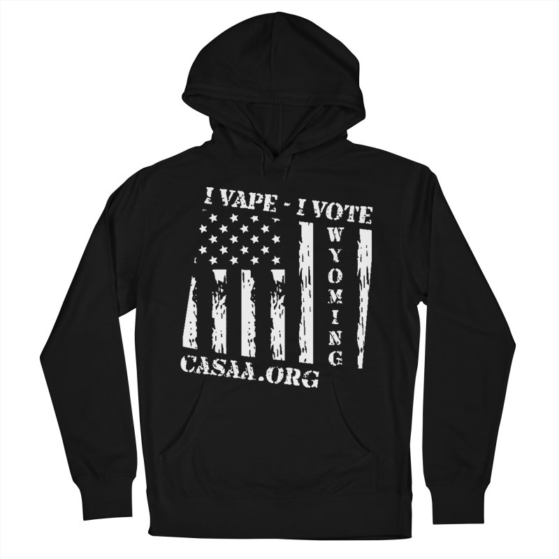 Wyoming Men's French Terry Pullover Hoody by CASAA Store