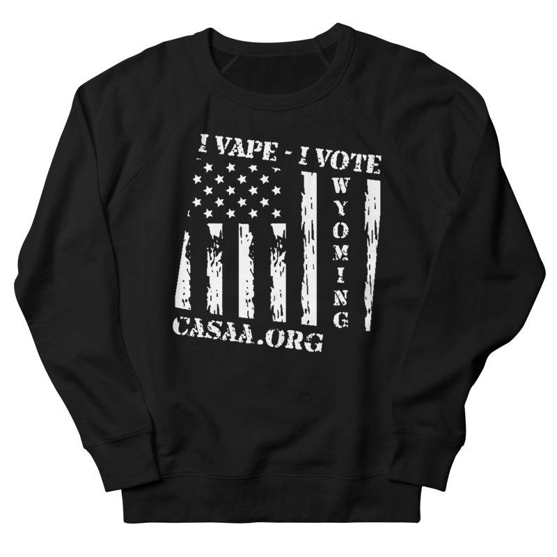Wyoming Women's French Terry Sweatshirt by CASAA Store
