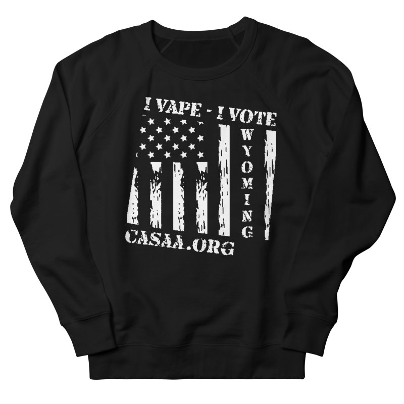 Wyoming Men's French Terry Sweatshirt by CASAA Store