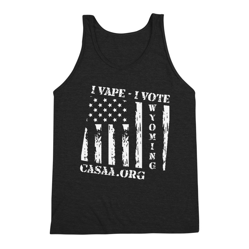 Wyoming Men's Triblend Tank by CASAA Store