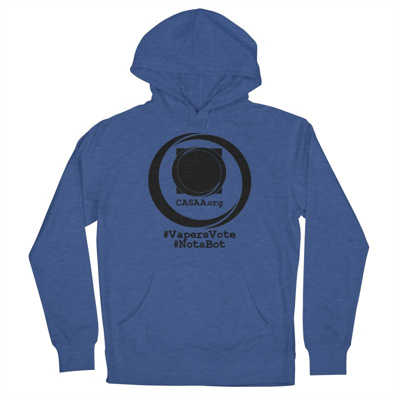 Vapers Vote / Not A Bot Men's Pullover Hoody by CASAA Store