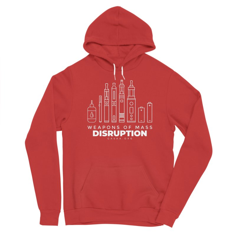 Weapons of Mass Disruption Men's Pullover Hoody by CASAA Store