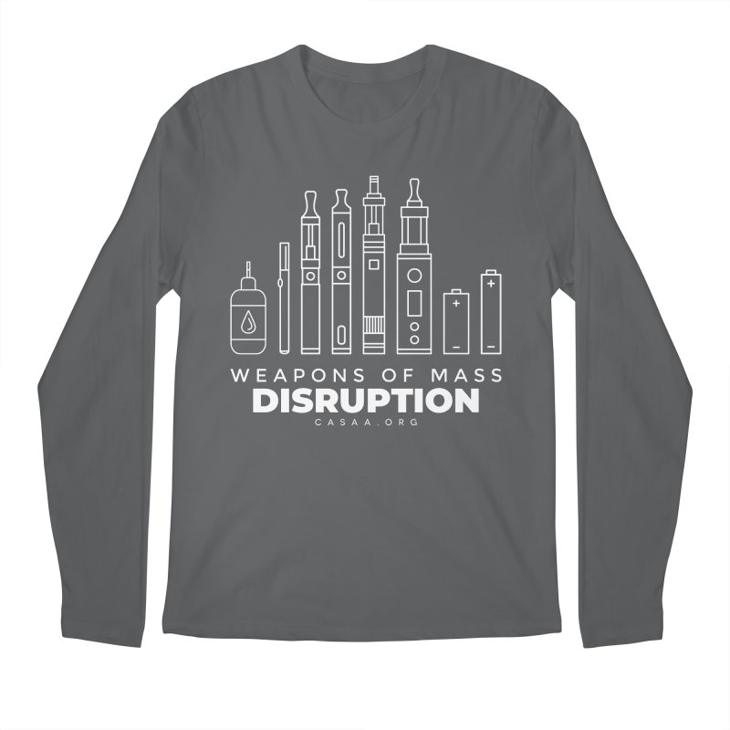 Weapons of Mass Disruption Men's Longsleeve T-Shirt by CASAA Store