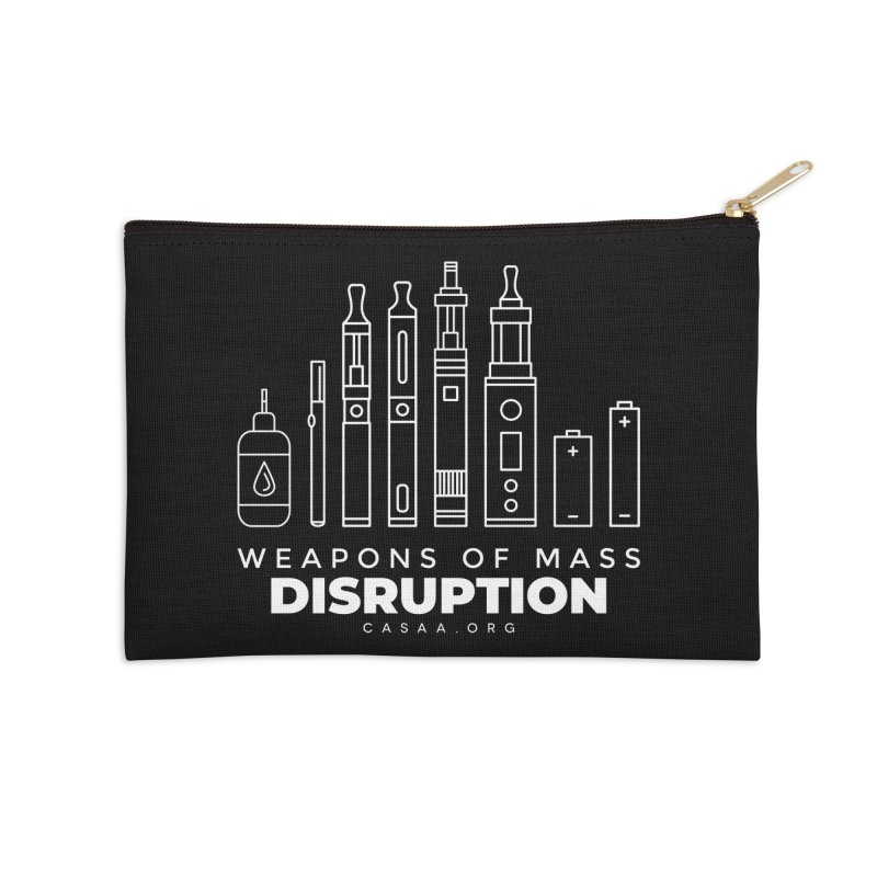 Weapons of Mass Disruption Accessories Zip Pouch by CASAA Store