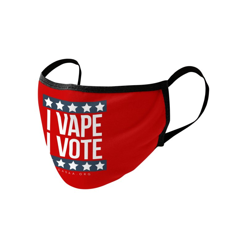 I Vape I Vote Accessories Face Mask by CASAA Store