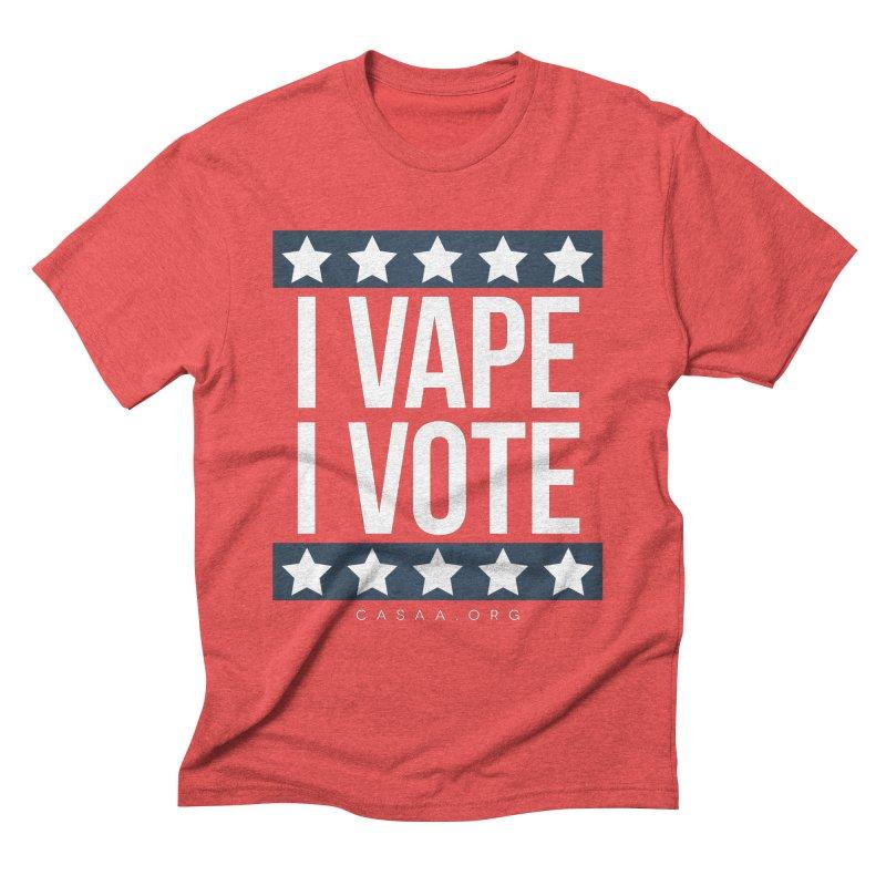 I Vape I Vote Men's T-Shirt by CASAA Store