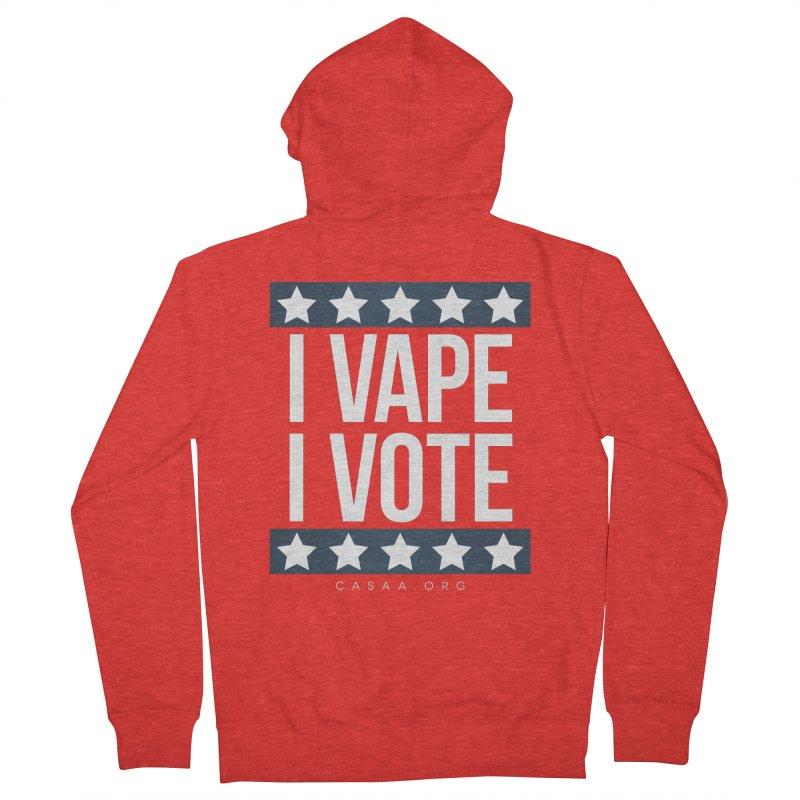 I Vape I Vote Women's Zip-Up Hoody by CASAA Store