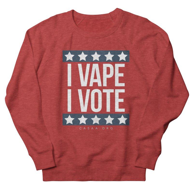 I Vape I Vote Women's Sweatshirt by CASAA Store