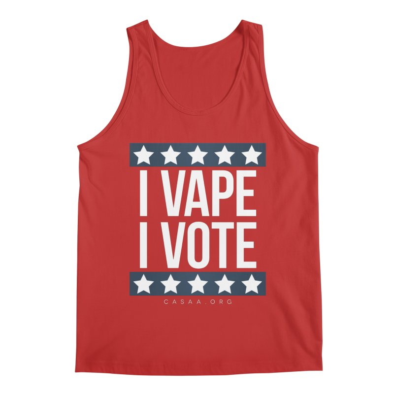 I Vape I Vote Men's Tank by CASAA Store