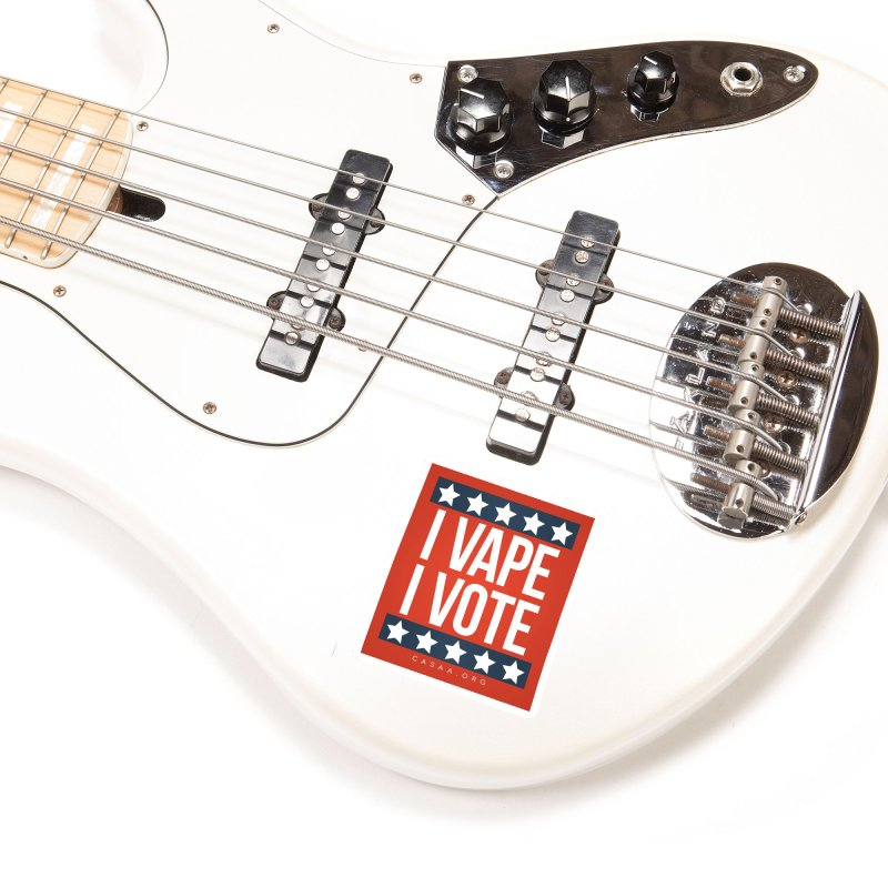 I Vape I Vote Accessories Sticker by CASAA Store