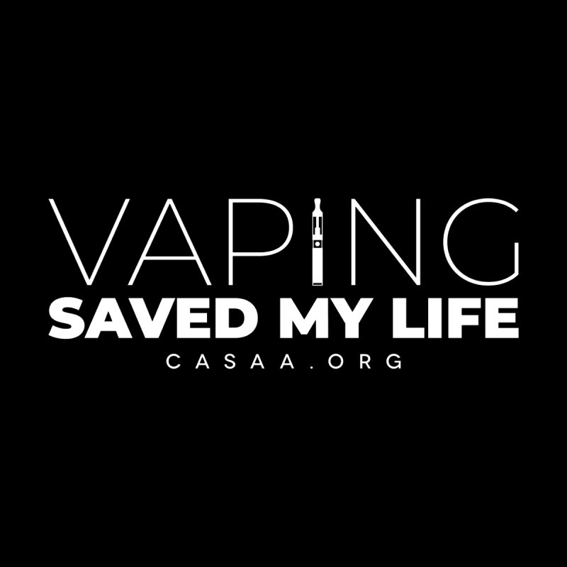 Vaping Saved My Life Accessories Face Mask by CASAA Store