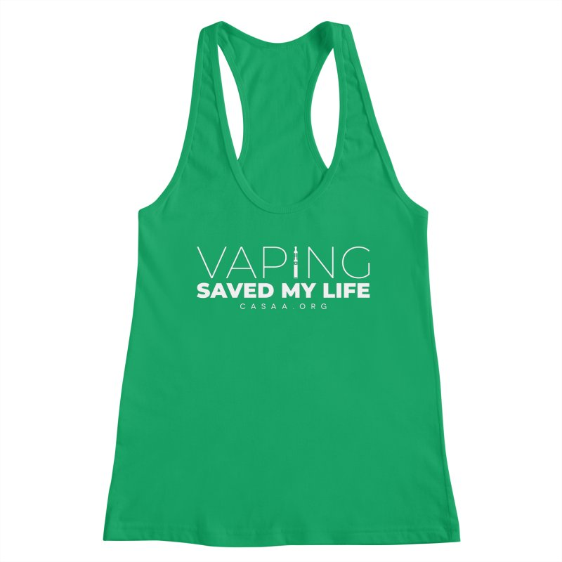 Vaping Saved My Life Women's Tank by CASAA Store