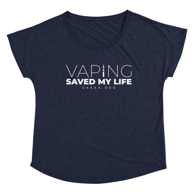 Vaping Saved My Life Women's Scoop Neck by CASAA Store