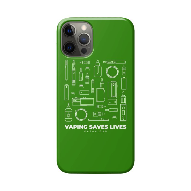 Vaping Saves Lives Accessories Phone Case by CASAA Store