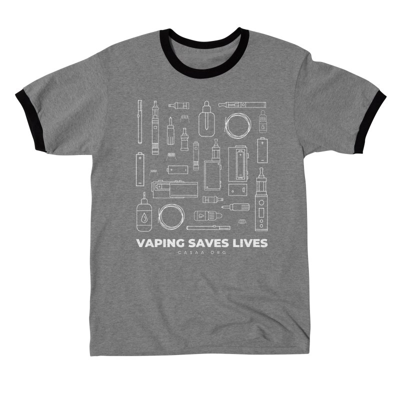 Vaping Saves Lives Men's T-Shirt by CASAA Store