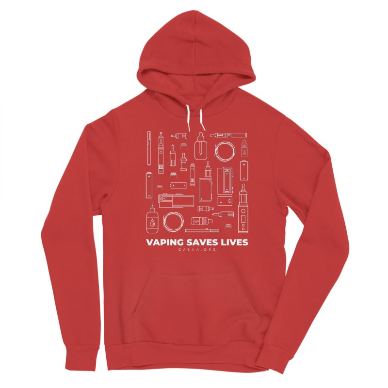 Vaping Saves Lives Women's Pullover Hoody by CASAA Store