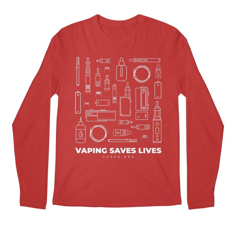 Vaping Saves Lives Men's Longsleeve T-Shirt by CASAA Store