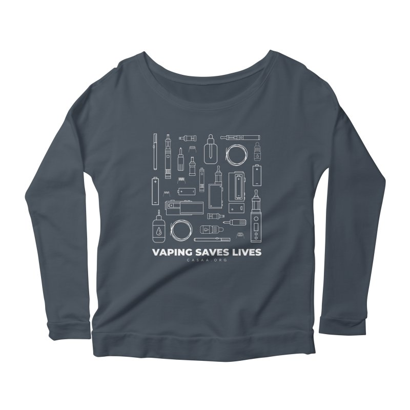 Vaping Saves Lives Women's Longsleeve T-Shirt by CASAA Store