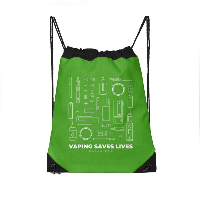 Vaping Saves Lives Accessories Bag by CASAA Store