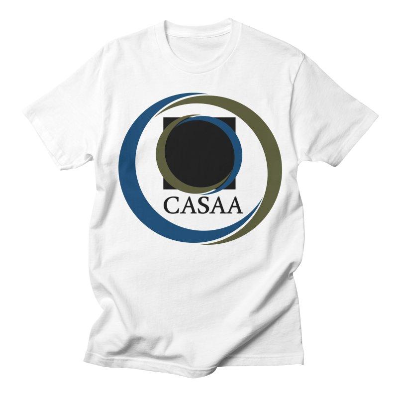 CASAA in Men's Regular T-Shirt White by CASAA Store