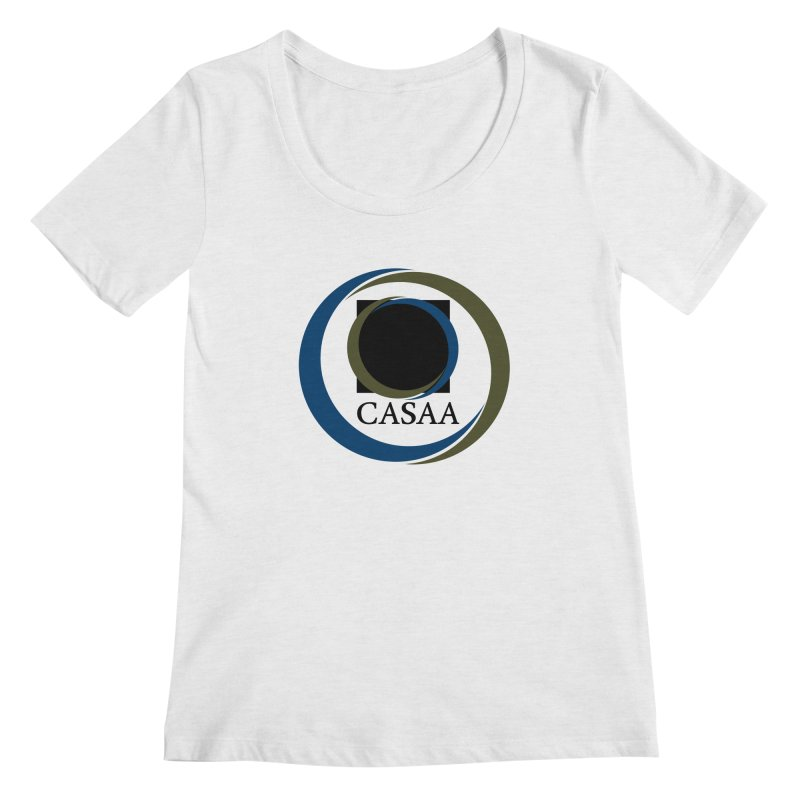CASAA Women's Regular Scoop Neck by CASAA Store