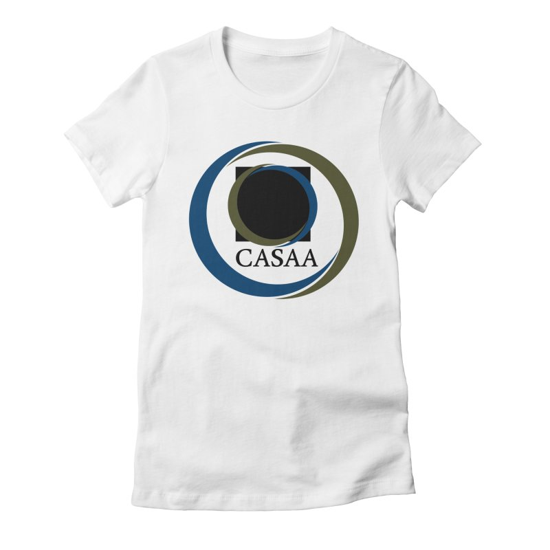 CASAA in Women's Fitted T-Shirt White by CASAA Store
