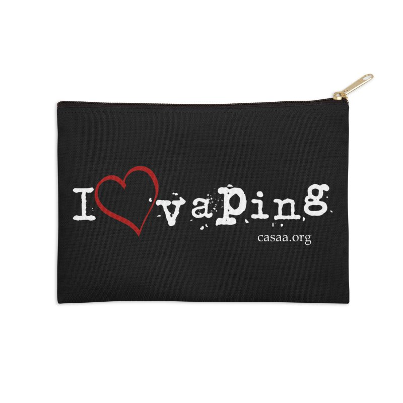 I (Heart) Vaping in Zip Pouch by CASAA Store