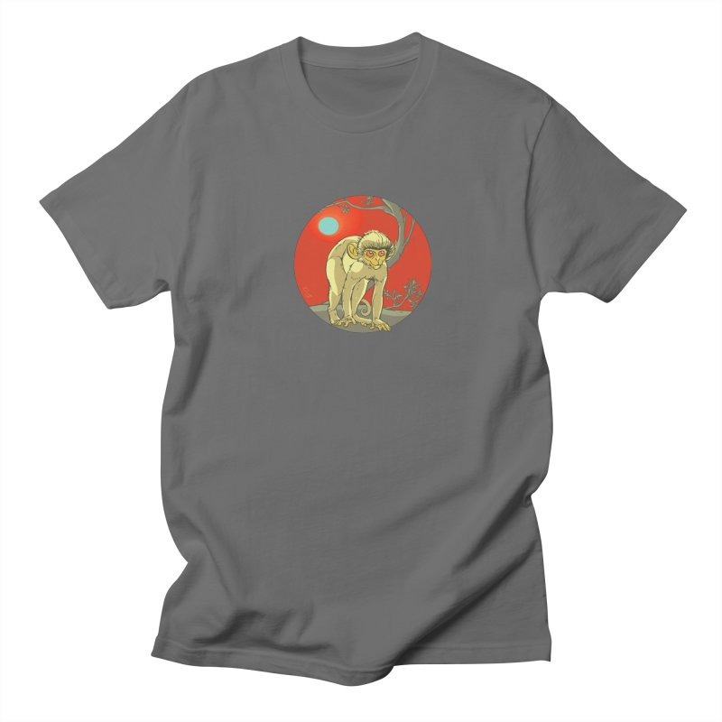 Monkey Zodiac Men's T-Shirt by CB Design