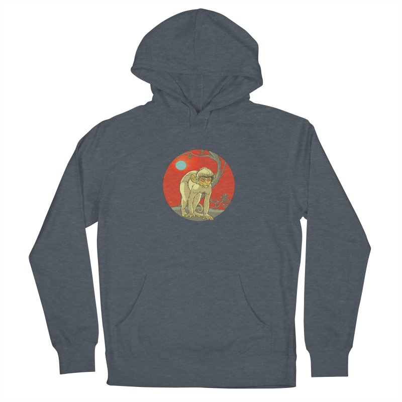 Monkey Zodiac Women's French Terry Pullover Hoody by CB Design