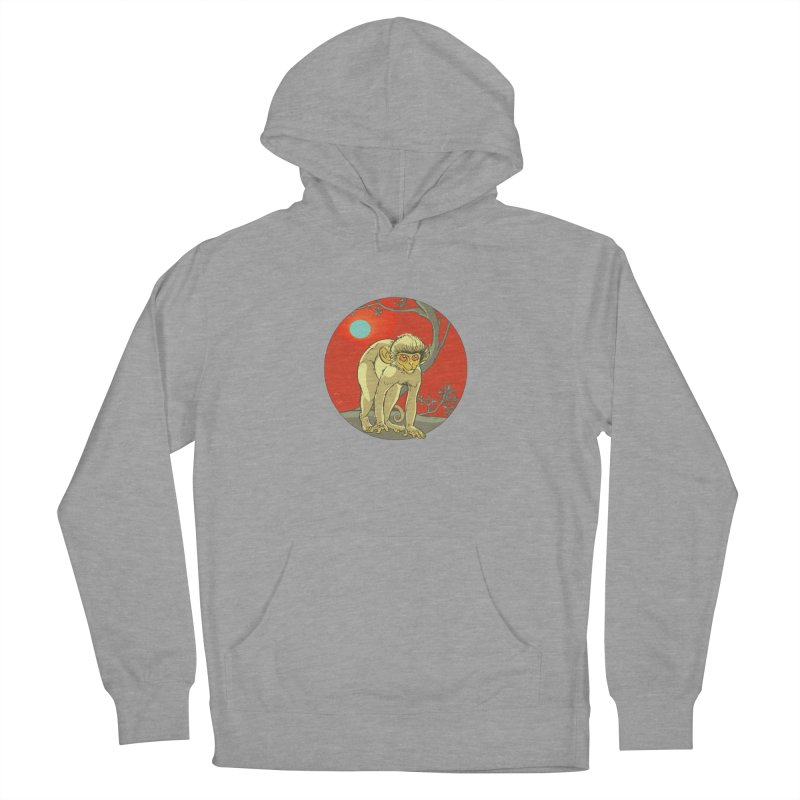 Monkey Zodiac Men's French Terry Pullover Hoody by CB Design