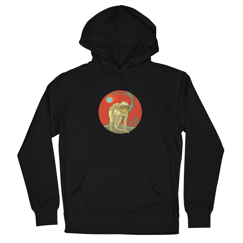 Monkey Zodiac Men's French Terry Pullover Hoody by CB Design